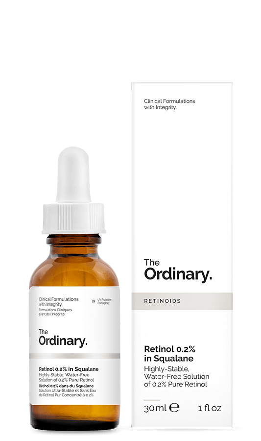 The Ordinary Retinol 0.2% in Squalane 30 ml for skin