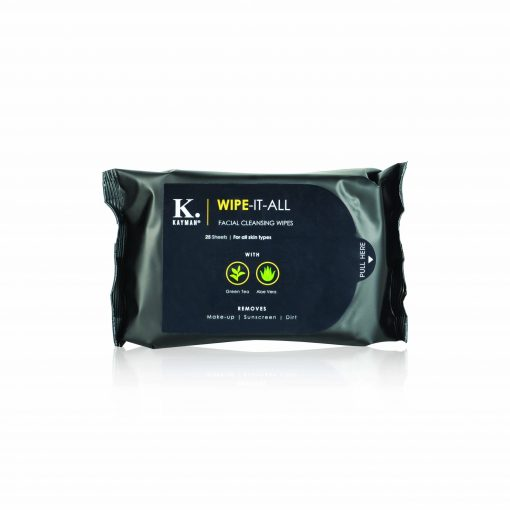 Kayman Beauty Wipe-it-all Facial Cleansing Wipes Front Look